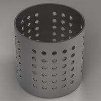 Cooking utensils stand 3D Model