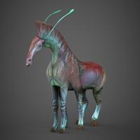 Avatar Horse Pali 3D Model