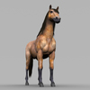 09 21 00 785 realistic muscular horse 09 4