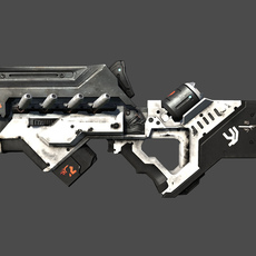 District 9 SMG 3D Model