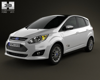 Ford C-MAX Energi 2012 3D Model