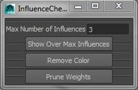 Influence Count Fixer for Maya 0.0.1 (maya script)