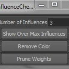 Influence Count Fixer for Maya 0.0.1 (maya script)
