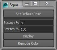 Squash Stretch Checker 0.0.1 for Maya (maya script)