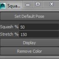Squash Stretch Checker for Maya 0.0.1 (maya script)