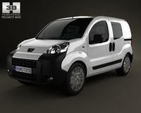 Peugeot Bipper Tepee Combi 2011 3D Model