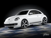 Volkswagen Maggiolino 2013 3D Model