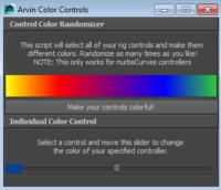 ja_ColorControl Script 1.0.0 for Maya (maya script)