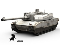 Leclerc United Nations scheme 3D Model