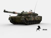 Ariete , Italian Army Scheme 3D Model