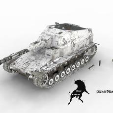Dickermax with winter scheme 3D Model