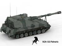VCA-155 Palmaria, argentinan army scheme 3D Model