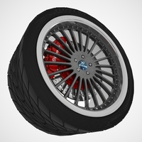 HAMANN Wheel 3D Model