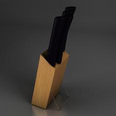 Knives 3D Model