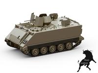 M-113 ACAV 3D Model