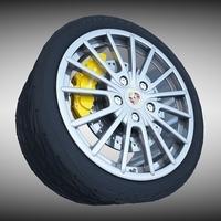 Porsche Panamera Wheel 3D Model