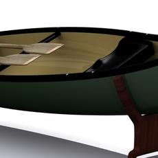 Canoe 3D 3D Model