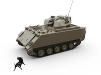 M-113 DK Wildcat 3D Model