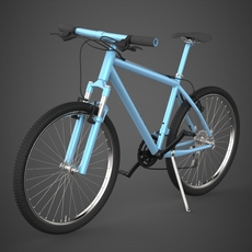 Realistic Bicycle 3D Model