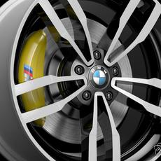 BMW M4 rim 3D Model