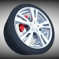 Infiniti Wheel 3D Model