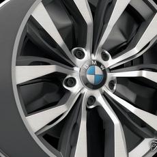 BMW X4 rim 3D Model