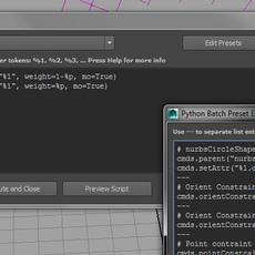 Python Batch for Maya 2.0.0 (maya script)
