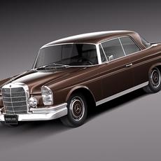 Mercedes-Benz 300SE W112 Coupe 3D Model