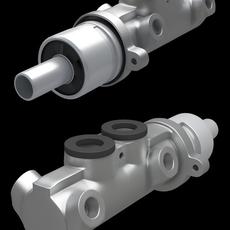 Brake master cylinder 3D Model
