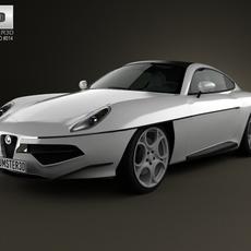 Alfa Romeo Disco Volante Touring 2013 3D Model