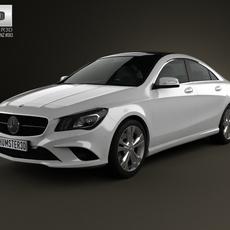 Mercedes-Benz CLA-Class (C117) 2013 3D Model