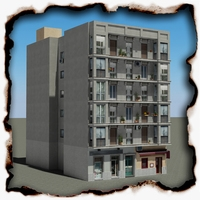 Building 92 3D Model