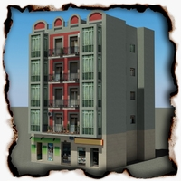 Building 93 3D Model