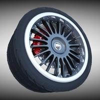 Lumma Racing Wheel 3D Model