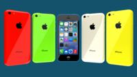 iPhone 5C 3D Model
