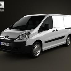 Toyota ProAce Van L2H1 2012 3D Model