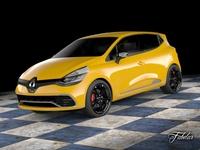 Renault Clio RS 2013 3D Model