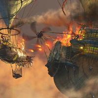 Steampunk pirates cover