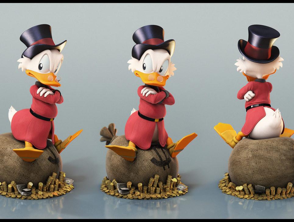 Scrooge grumpy show