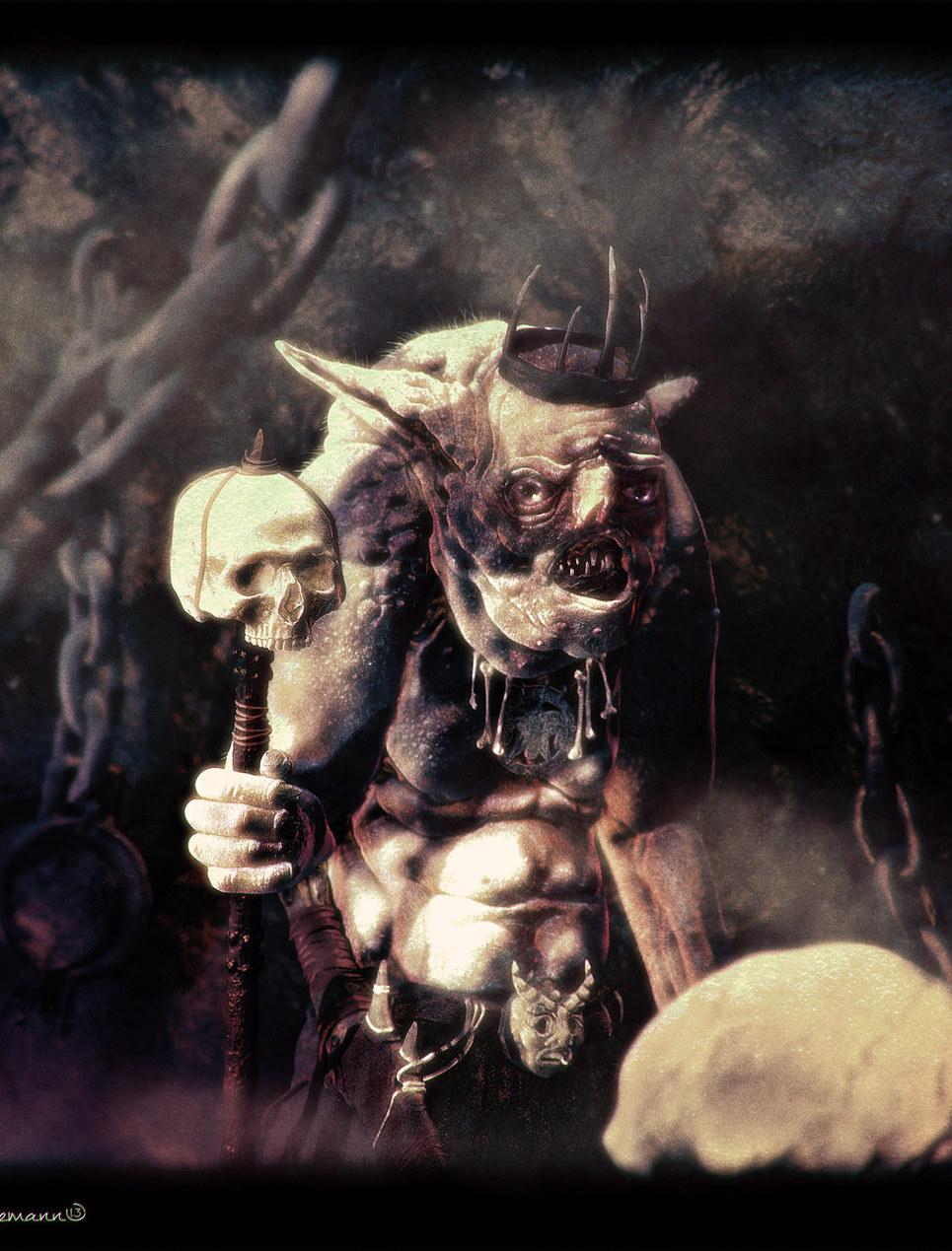 The white goblin web show