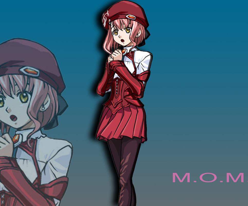 Momo from xenosaga show