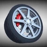 AMG Wheel 3D Model