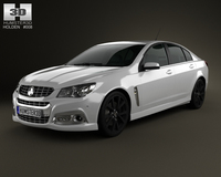 Holden VF Commodore Calais V SSV 2013 3D Model