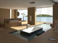 Bathroom 5 3D Model