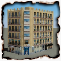Building 95 3D Model