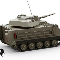 M-113 HMVS 3D Model