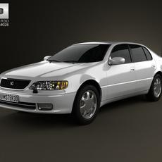 Lexus GS (S140) 1996 3D Model