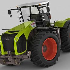 Claas Xerion Tractor 3D Model