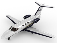 Cessna 510 Citation Mustang 3D Model