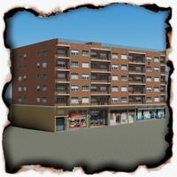 Building 97 3D Model